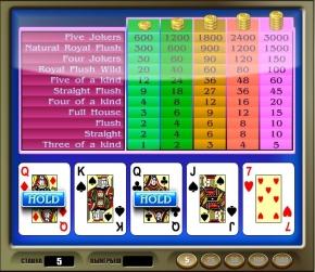 Американский покер - American poker - симулятор